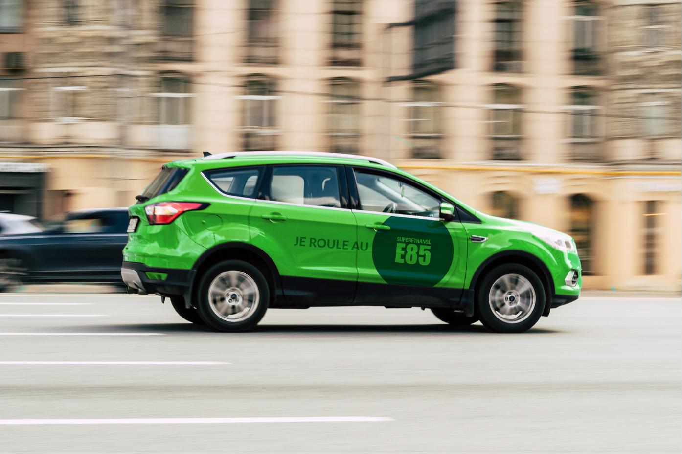 voiture-verte-E85